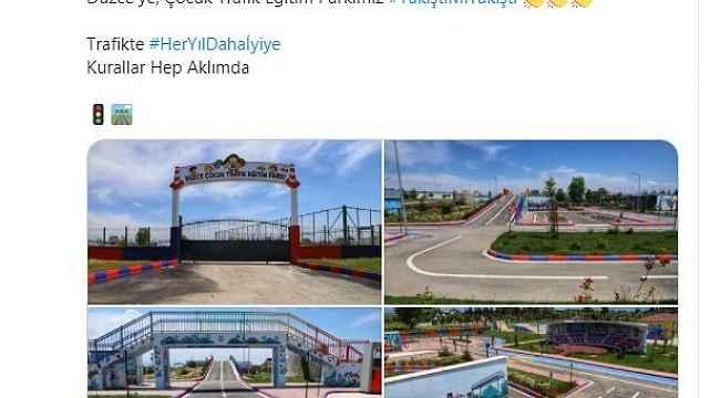 İçişleri Bakanı Süleyman Soylu'dan Düzce paylaşımı