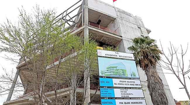 İnal Aydınoğlu Kültür Merkezi Ataşehirli sanatseverlerin yeni adresi olacak