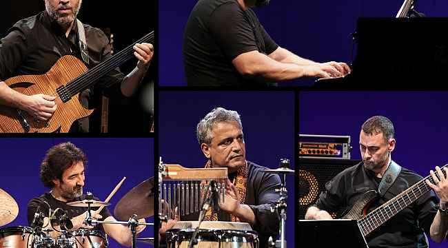 """İş Sanat'ta sezonun son caz konserini """"Almagest Quintet"""" gerçekleştirecek"""