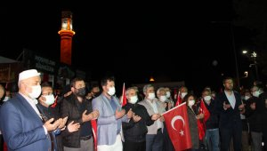 İsrail'in Mescid-i Aksa'ya yönelik saldırısı Çorum'da protesto edildi