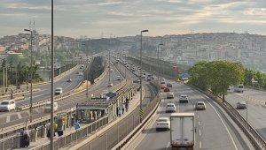 Kademeli Normalleşmenin ikinci gününde trafik yoğunluğu