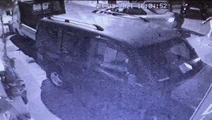 Kağıthane'deki pompalı dehşet kamerada