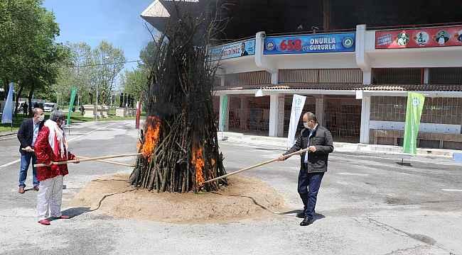 Kakava ateşi sembolik olarak yakılacak