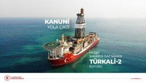 Kanuni Sondaj Gemisi ilk görevi için Türkali kuyusuna doğru yola çıktı