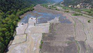 Karabük'te tarımsal sulama kanal çalışmaları sürüyor