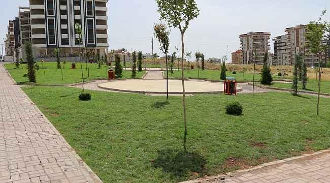 Karaköprü'ye yeni parklar kazandırılıyor