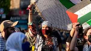 Katil İsrail, saldırılarına tepki gösteren Bella Hadid'e savaş açtı