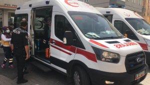 Kayseri'de açık unutulan tüp parladı: 2 yaralı