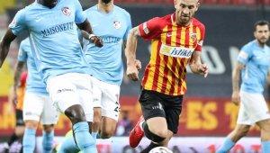 Kayserispor 3 maçta 5 puan topladı