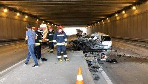 Kazada yaralanan 3 yaşındaki çocuk kurtarılamadı