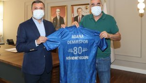 """Kocaispir: """"Adana Demirspor'a desteğimiz devam edecek"""""""