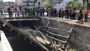 Köprüdeki inşaat çöktü: 3 yaralı - Bursa Haberleri