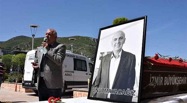 Korona nedeniyle yaşamını yitiren başkan yardımcısı defnedildi
