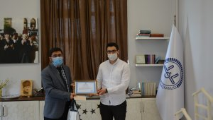Kur'an-ı Kerim'i Güzel Okuma Yarışmasında il birincisi oldu