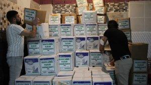 Mahallenin gönüllüleri, imece usulü 700 aileye destek ulaştırdı