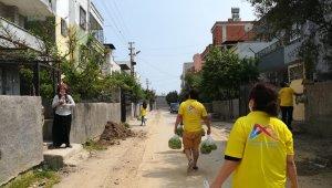 Mersin Büyükşehir Belediyesi, 2 günde 90 ton sebze dağıttı