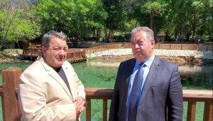 Milletvekili Fendoğlu, Turgut Özal Tabiat Parkını inceledi