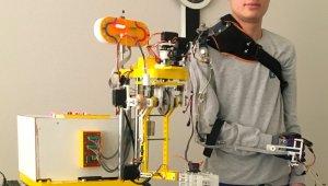 Mobil robot kol ile iş kazaları önlenebilecek