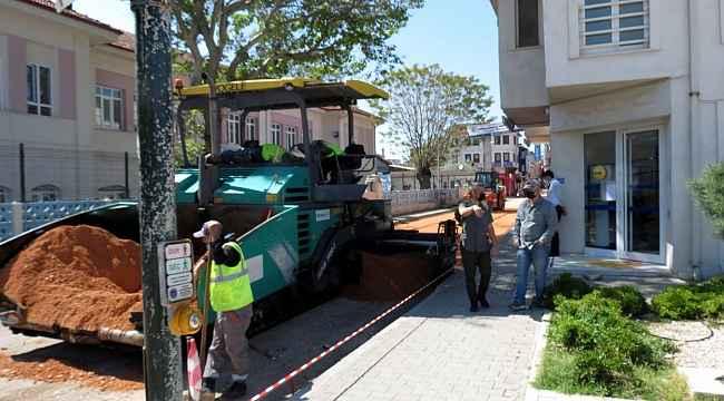 Mudanya'nın caddeleri Büyükşehir ile yenileniyor - Bursa Haberleri
