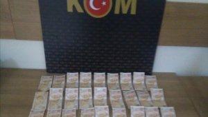 Nevşehir'de 36 adet sahte 50 liralık banknot ele geçirildi