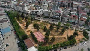Nilüfer'in parklarında hummalı çalışma - Bursa Haberleri