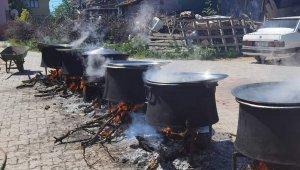 Oğuz Boyu Türkleri'nin geleneği Çal'da devam ettirildi