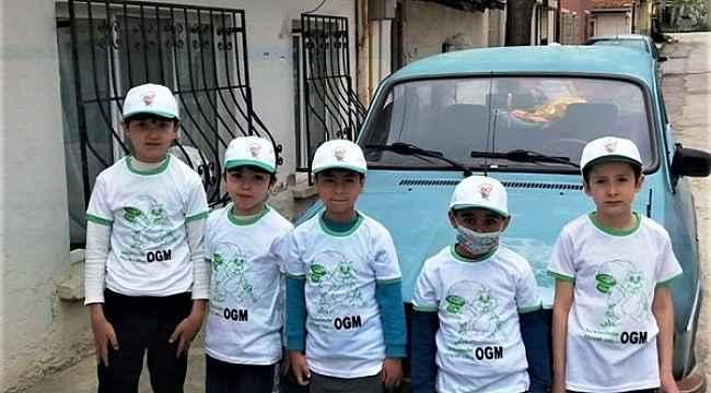 Orman İşletme Müdürlüğünden çocuklara hediye