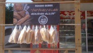 Ortaca'da 'askıda ekmek' seferberliği