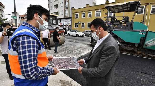 Osmangazi Belediyesi'nden tam kapanmada asfalt mesaisi - Bursa Haberleri