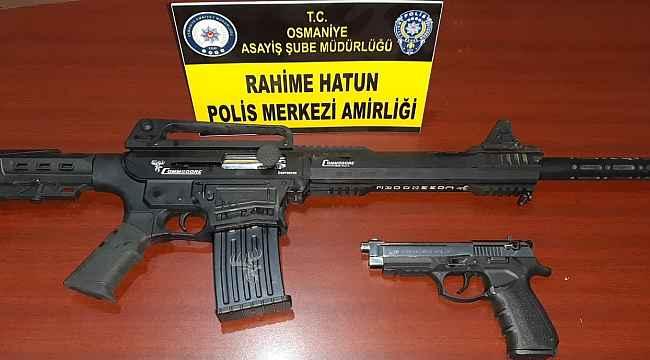 Osmaniye'de silahlı kavga: 1 yaralı