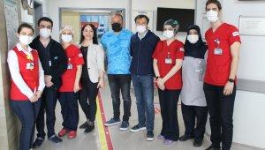 Özel İmperial Hastanesinde bayramlaşma