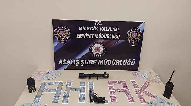 Polisi şaşkına çeviren kumar baskını