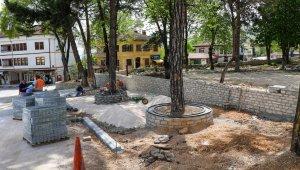 Safranbolu'da çevre çalışmaları sürüyor
