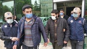 Samsun'da DEAŞ'tan gözaltına alınan 4 kişi adliyeye sevk edildi