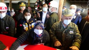 Şehit Uzman Onbaşı Yasin Özdamar son yolculuğuna uğurlandı
