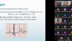 Söke Sağlık Hizmetleri MYO'da Temel EKG eğitimi gerçekleşti