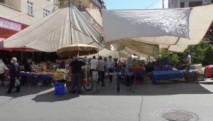 Tam kapanmanın bitmesiyle birlikte pazarlar da açıldı