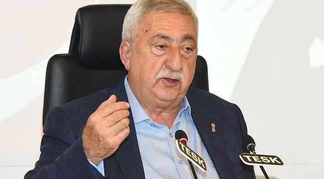 TESK Genel Başkanı Palandöken, Cumhurbaşkanı Erdoğan'dan randevu talep etti