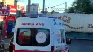 Trenin makas değişimi vakaya giden ambulansı dakikalarca bekletti