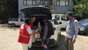 Türk Kızılay Mudanya'da 150 aileye yardım ulaştırdı - Bursa Haberleri