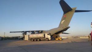 Türkiye Hindistan'a iki askeri kargo uçağı ile tıbbi yardım gönderdi
