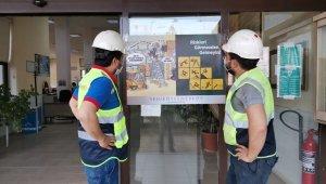 Yeniköy Kemerköy'de İş Sağlığı ve Güvenliği Haftası, tebessümle karşılandı