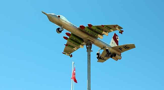 Yozgat'ta satılık F-16 savaş uçağı