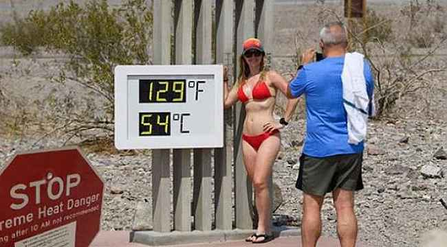 108 yılın en sıcak yazını yaşıyorlar