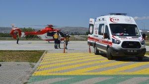 14 yaşında intihara kalkıştı, ip koptu, helikopter yetişti