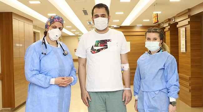 30 yaşında korona virüsü atlattı
