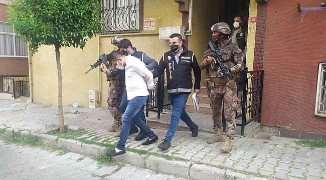 'Nurişler' organize suç örgütüne yönelik İstanbul merkezli 4 ilde eş zamanlı operasyon
