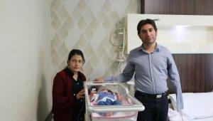 6 aylık Rabia bebek kalp ameliyatıyla sağlığına kavuştu