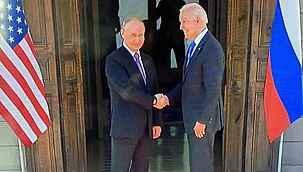 ABD Başkanı Biden ve Putin görüşme öncesi poz verdi