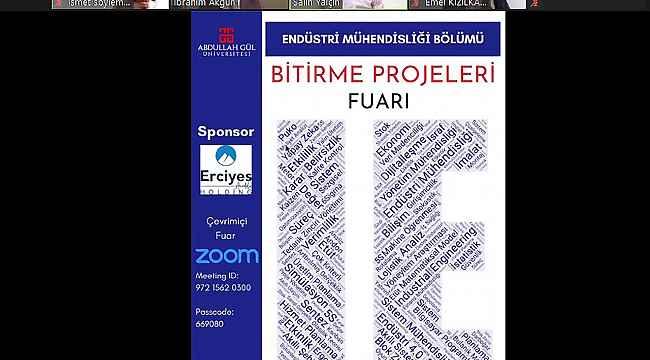 """AGÜ Endüstri Mühendisliği'nden """"4. Lisans Bitirme Projeleri Fuarı ve Yarışması"""""""